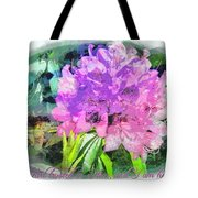 Psalm 28 7 Tote Bag