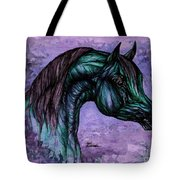 Psychedelic Blue Tote Bag