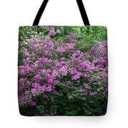 Purple Azaleas Tote Bag