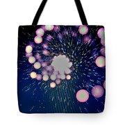 Purple Bang Theory Tote Bag