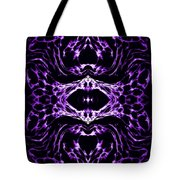 Purple Series 3 Tote Bag by J D Owen