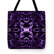 Purple Series 9 Tote Bag