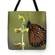 Queen Butterfly Tote Bag