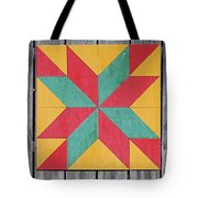 Quilting The Barn  Tote Bag