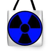 Radiation Warning Sign Tote Bag