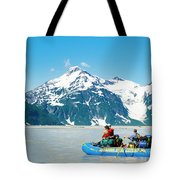 Rafters On The Alsek River Tote Bag