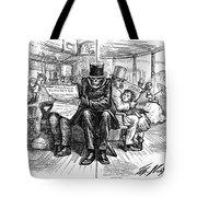 Railroad Accidents, 1871 Tote Bag