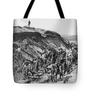 Railroading Construction Tote Bag