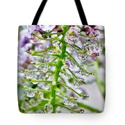 Raindrop Laden Blushing Princess Tote Bag