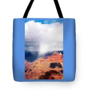 Raining In The Canyon Tote Bag