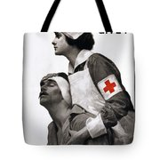 Red Cross Poster, 1917 Tote Bag
