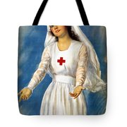 Red Cross Poster, 1918 Tote Bag