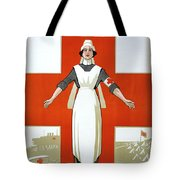 Red Cross Poster, C1917 Tote Bag