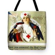 Red Cross Poster, C1918 Tote Bag