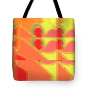 Red Effect Tote Bag