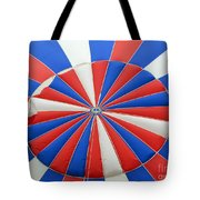 Red White And Balloon  Tote Bag