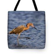 Redish Egret Tote Bag