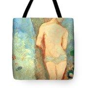 Redon's Saint Sebastian Tote Bag