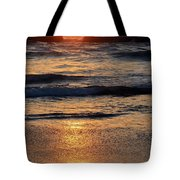Reflections Of Sunset Tote Bag