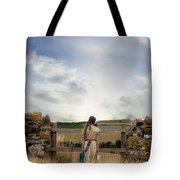 Refugee Girl Tote Bag