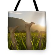 Relaxing Moment Tote Bag