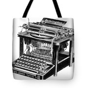 Remington Typewriter Tote Bag