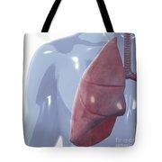 Respiratory System Tote Bag