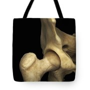 Right Hip Joint Male Tote Bag