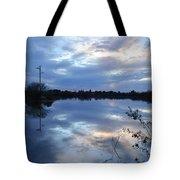 Riparian Sunset Tote Bag