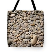 River Rocks Pebbles Tote Bag