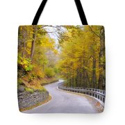 Road With Curves Tote Bag