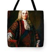 Robert Walpole (1676-1745) Tote Bag