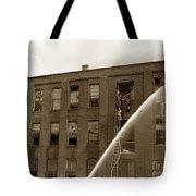 Rochester Show Case Co. Fire New York State Circa 1904 Tote Bag