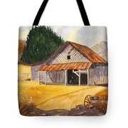 Rocky Waters Tote Bag