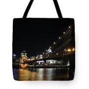 Roebling Suspension Bridge 9939 Tote Bag