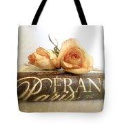 Paris Romantic Tote Bag