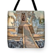 Rong Khun Temple Tote Bag by Adrian Evans