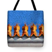 Roof Decoration Tote Bag