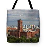 Rotes Rathaus Berlin Tote Bag