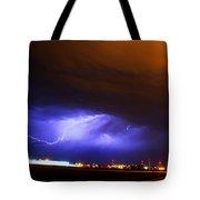 Round 2 More Late Night Servere Nebraska Storms Tote Bag