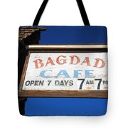 Route 66 - Bagdad Cafe Tote Bag