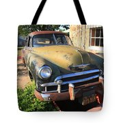Route 66 Classic Car Tote Bag