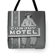 Route 66 - Cowboy Motel Tote Bag