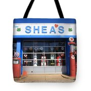Route 66 - Shea's Filling Station Tote Bag
