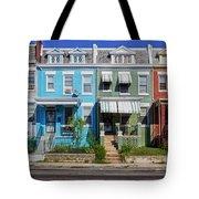 Row Houses In Washington D.c. Tote Bag