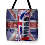 Royal Telephone Box Tote Bag by David French