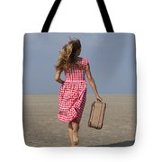 Running Away Tote Bag