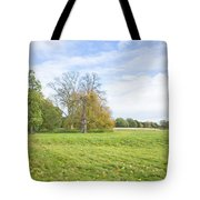 Rural Scene Tote Bag