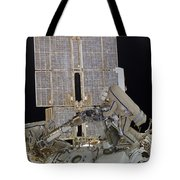 Russian Cosmonauts Working Tote Bag