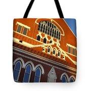 Ryman Auditorium Tote Bag